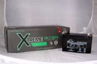 8 x Leoch XR-7.5FR Batteries - FIRE RETARDENT